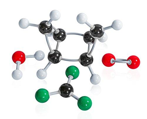 Pangira Organic Chemistry Molecular Model Kit 80 Atoms Molecular Model Set for students seeking a chemistry molecular model set designed with them in mind (80 Atom Large Set)