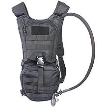 Mochila tácnica de hidratación Mochilas con bolsa de 2.5L para senderismo, ciclismo, Running, Senderismo y Escalada