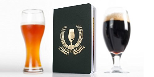 Craft Beer Tasting Logbook - Set of 2 passports | Beer Tasting Notebook w/ Space for Travel Notes | Beer and Food Pairings, Ordering Beer Around the World, IBU Chart and much more! | (Beers From Around The World Gift Pack)