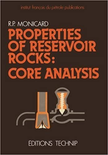 Book Properties of Reservoir Rocks: Core Analysis by R.P. Monicard (2014-01-10)