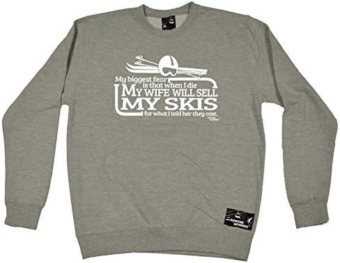 Born To Ski MENS Powder Monkeez T-SHIRT birthday gift clothing skiing skier
