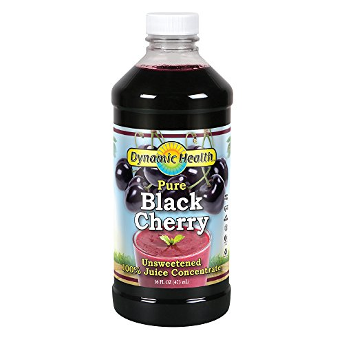 Dynamic Health Black Cherry Concentrate 16 Servings (Dynamic Health Cranberry Juice Concentrate 16 Oz)