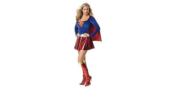 Super Woman Disfraz L 42/44 Super Héroes Carnaval Disfraz Para ...