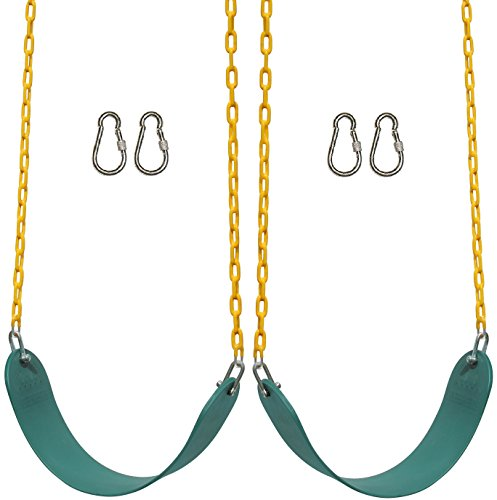 2 Pack Jungle Gym Kingdom Swings Seats Heavy Duty 66