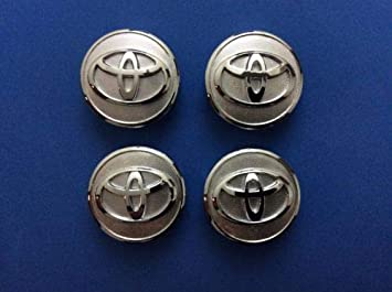 Tapacubos central de 4 ruedas para Toyota 07-13 Prius 09-13 Corolla 07-14 Yaris: Amazon.es: Bricolaje y herramientas