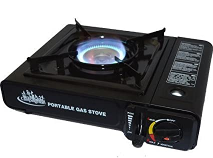 RSonic Cocina Camping Cocina Gas Cocina de gas Outdoor Estufa cartucho Estufa de gas butano +