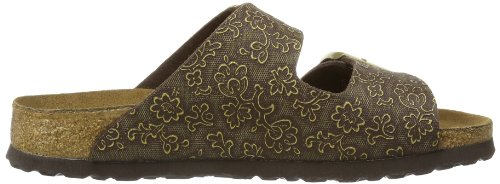 Papillio et sabots Marron mules ARIZONA Braun Tendril BF Brown Gold femme PqPwnBf7x