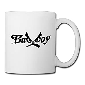 Christina Badboy Logo Ceramic Coffee Mug Tea Cup White