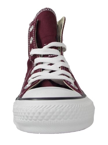 Ctas Converse Hi Baskets burgundy Mode Core Mixte Adulte Rouge d77gna