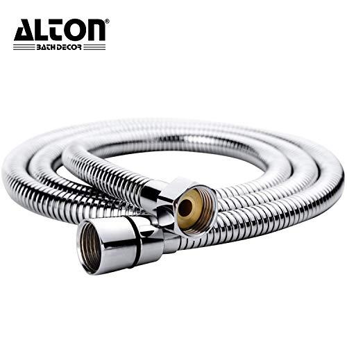 ALTON ALT2040 1.5 Meter, 304 Grade Flexible Shower Hose Pipe, Chrome