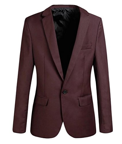 SexyBaby-Men-Casual-One-Button-Notch-Lapel-Patch-Jacket-Blazer