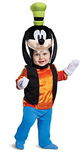 Funny Toddler Costume (Disguise Baby Boys Goofy Classic Infant Costume, Orange, (12-18)