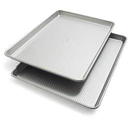 Sur La Table Platinum Professional Half Sheet Pans 21320ST , 17.25\