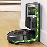 iRobot Roomba i7+ Wi-Fi Connected Automatic Dirt Disposal (7550)...