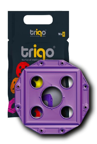Triqo Square Booster (purple, Pack Of 10) ()