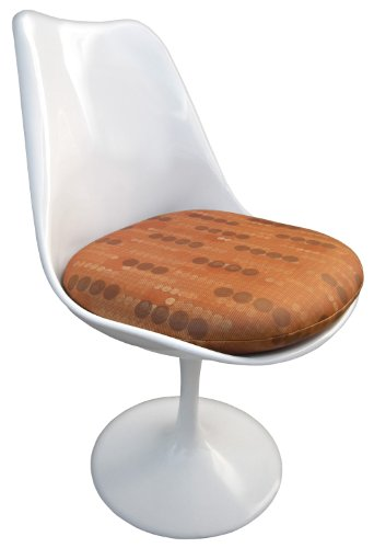 Replacement Cushion for Saarinen Tulip Side Chair - Patterned Vinyl