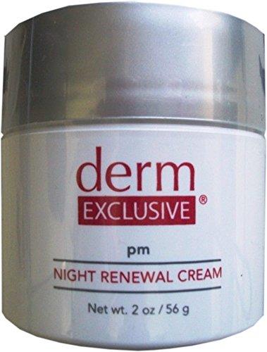 Derm Exclusive Pm Night Renewal Cream 2 0 Oz 56 G