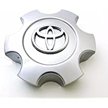 ONE NEW REPLACEMENT 2003-2006 Toyota Tundra 03-07 Sequoia wheel center cap hubcap Bright Silver Standard 69940