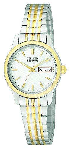 Citizen Women's Eco-Drive Expansion Band Watch with Day/Date, EW3154-90A ()