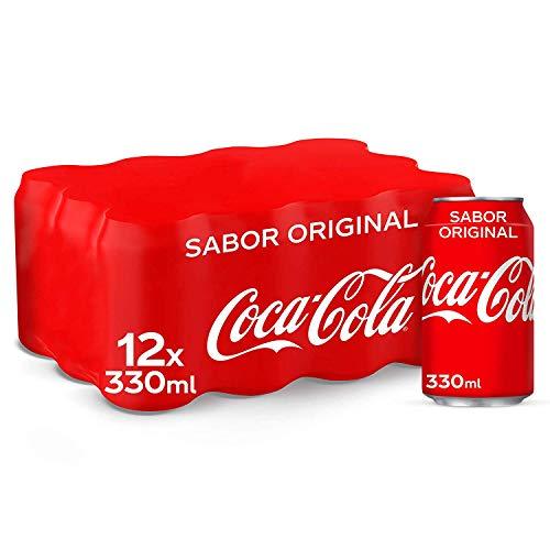 Coca-Cola Sabor Original Lata – 330 ml (Pack de 12)