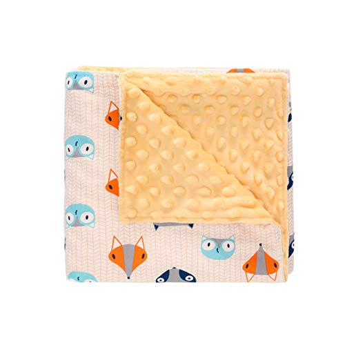 Super Soft Minky Dot Baby Security Blanket, 30