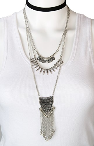 Ethinic Layered Necklace SPUNKYsoul Collection