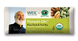 Weil By Nature's Path Organic Pistachi-oh! Pure Fruit And Nut Bars, 1.6-Ounce Bars (Pack of 16)