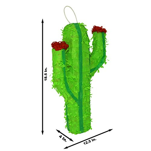 Classic Festive Cactus Pinata - Mexican Piñata - Handmade i