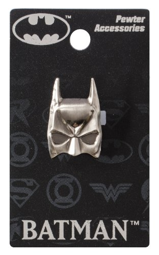 (DC Batman Mask Pewter Lapel Pin)