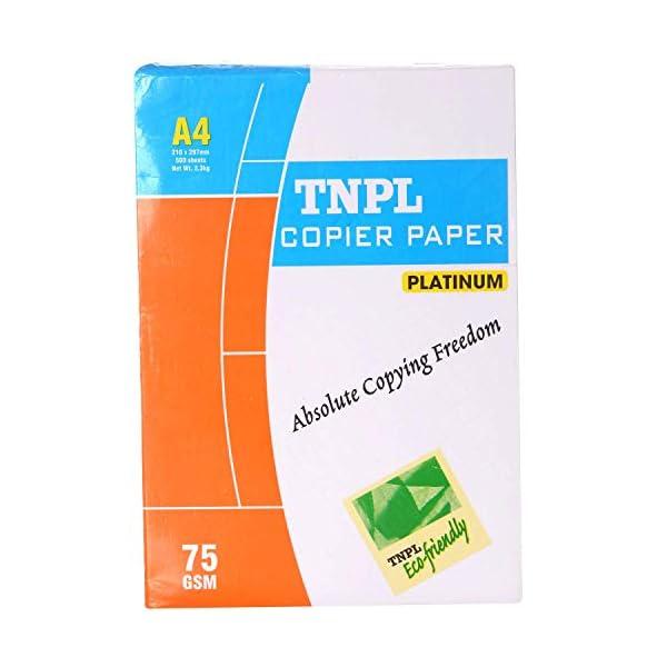 TNPL Copier Paper A4, 500 Sheets, 75 GSM, 10 Ream