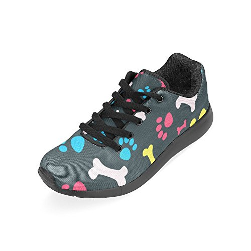 Size Women's Casual Running Print 15 Lightweight on Sneakers US Shoes Athletic 6 Zenzzle Pet Footprints qTI0wnw7f