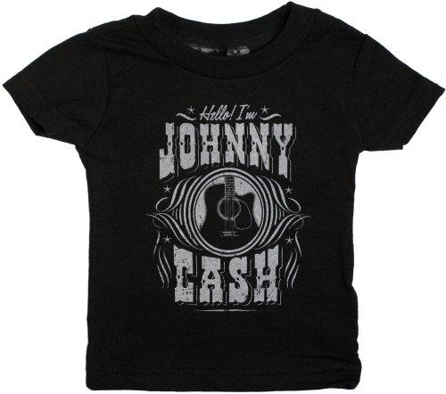 Sourpuss Hello I'm Johnny Cash Kids Tee