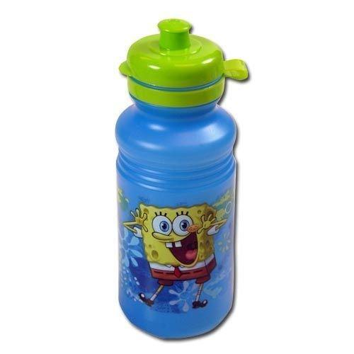 (Spongebob Blue 18oz Pull Top Water Bottle)