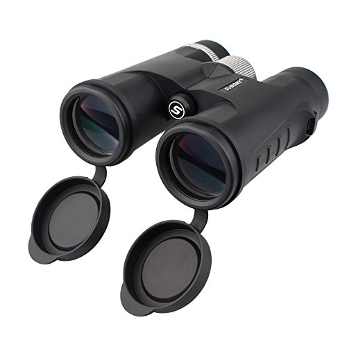 SVBONY Binoculars for Bird Watching 8×42 Compact binocular with Bak4 Prism Fully Multi Coated Optics Bright and Clear for Stargazing and travel