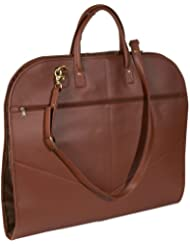 Royce Leather Unisex Genuine Leather Spencer Garment Bag