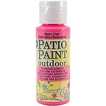 DecoArt Patio Paint, 2-Ounce, Neon Pink