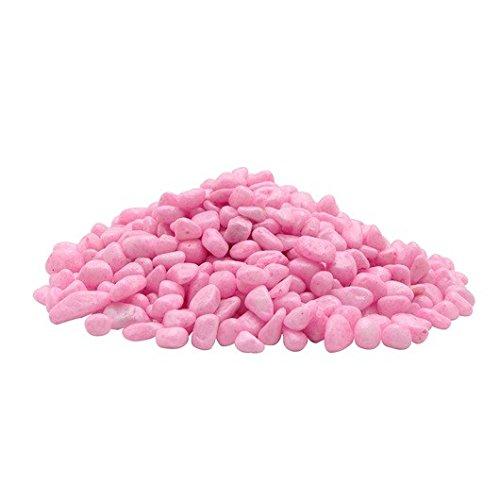 Marina Decorative Gravel, Pink, 1 lb