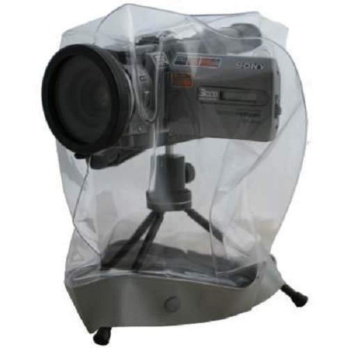 Ewa-Marine EM VC-1M Professional Rain Cape/Hurricane Hood Glass Optical Front Port (Clear)