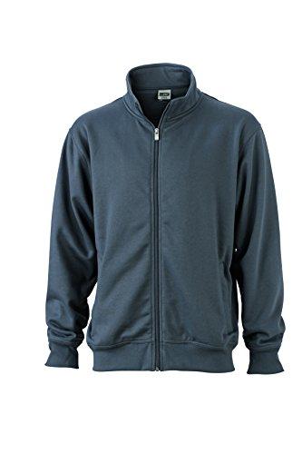 Workwear Felpa Coreana Chiusura In Sweat Jacket Alla Lampo Con Giacca Colletto Carbon E zOZHRqxw