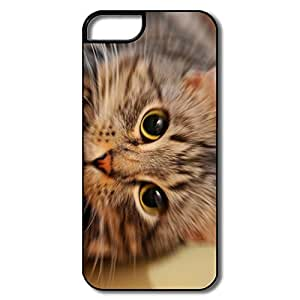Customized Cool Hard Plastic Anti Slip Cat Iphone 5s Cases by Maris's Diary