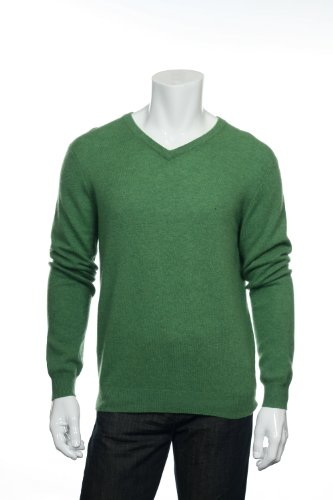 Club Room Green V-Neck Sweater, Size Large by Club Room (Image #5)