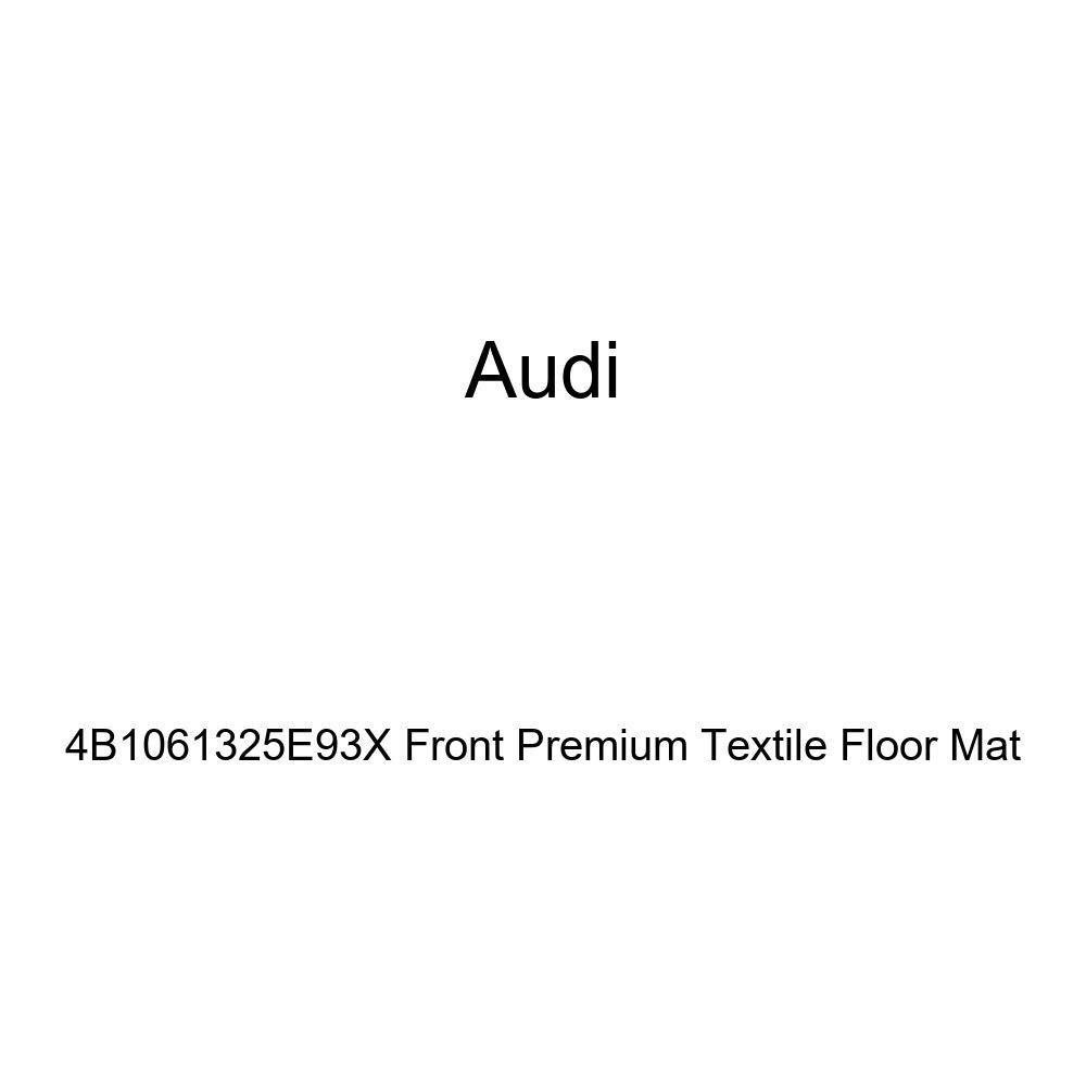 AUDI Genuine 4B1061325E93X Front Premium Textile Floor Mat