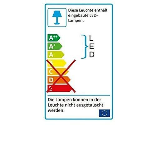 K/üchen und Vitrinenleuchte LED L/änge 913 mm 150 LED 9 Watt 230 V Schwenkbereich 45/° aluminium neutralwei/ß mit Stecker Wippschalter und Dekorglasscheibe schwenkbare Leuchteinheit Hochvolt Beleuchtung Fl/ächenleuchte Unterbauleuch