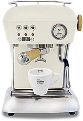 Ascaso Dream Up V3 Sweet Cream PID Wood Handle Semi-Automatic Espresso Machine - w