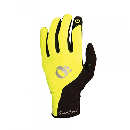 Price comparison product image Pearl Izumi Women's Thermal Conductive Gloves Screaming Yellow L 2-Pack