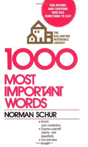 1000 most important words - 4