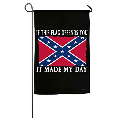 If You're Offended Flag Mississippi - MS Seasonal Garden Flag Festive Flags Small Outdoor - Garden Ms Flag