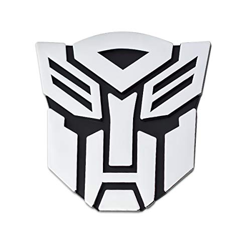 (Transformer Autobot Chrome Finish Auto Emblem - 3