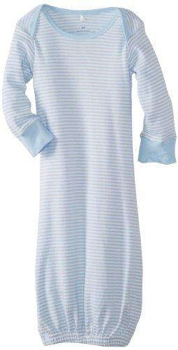 Pure Baby Unisex-Baby Newborn Sleepsuit-2, Pale Blue Stripe, New Born