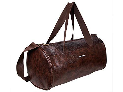 Killer Royal PU 21 Litre Stylish Brown Gym Bag